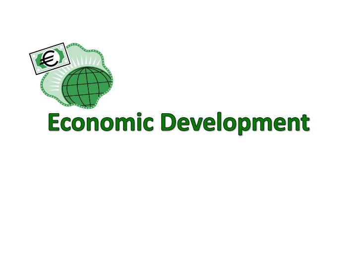 economic development n.
