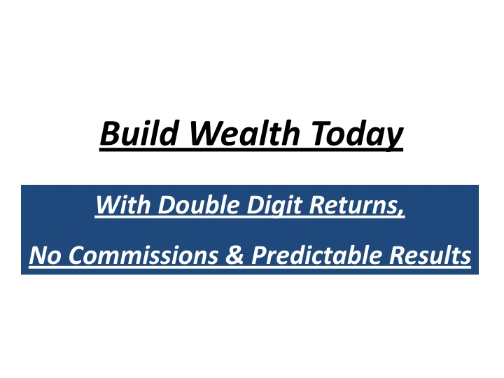 build wealth today n.