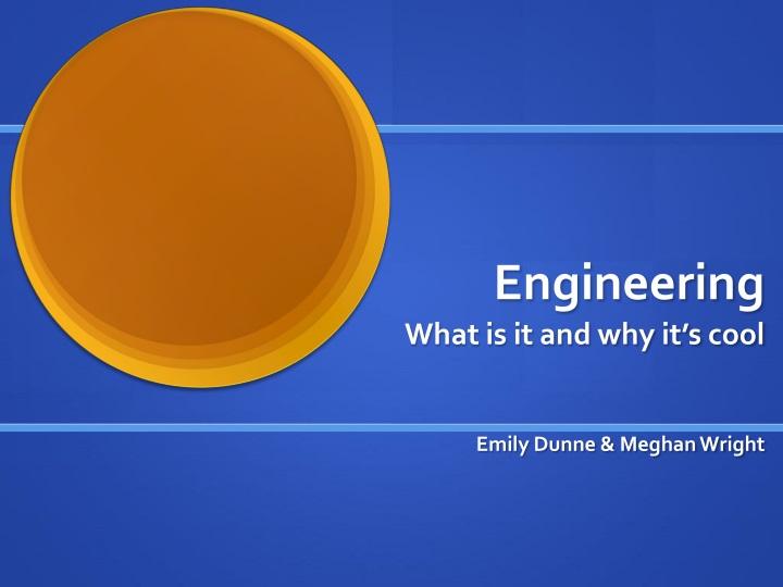 engineering n.