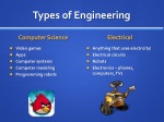 types of engineering 1
