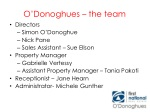 o donoghues the team