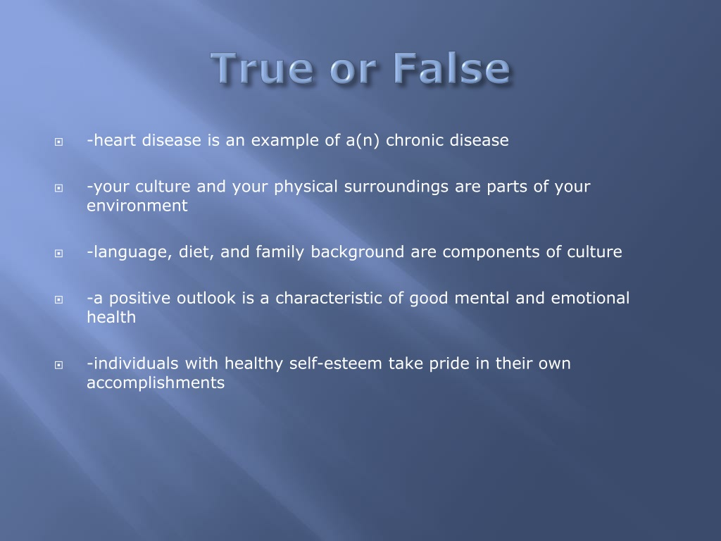 PPT - Health Final PowerPoint Presentation, free download ...