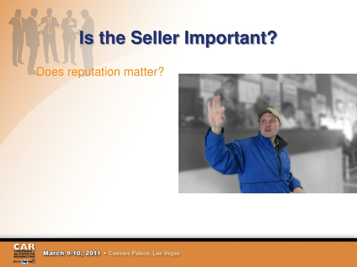 Is the Seller Important?