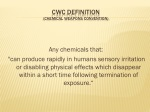 cwc definition chemical weapons convention