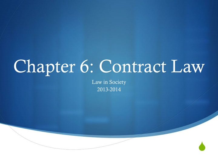 chapter 6 contract law n.