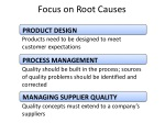 focus on root causes