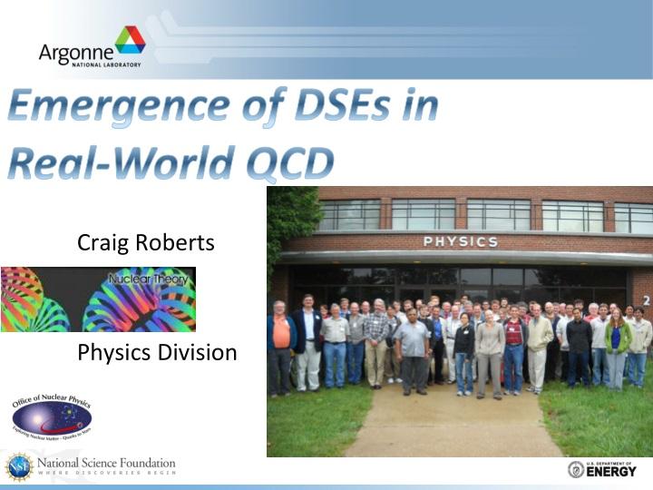 craig roberts physics division n.