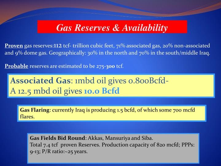 PPT - Iraq's Petroleum Sector Development- Opportunities