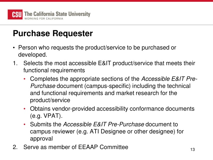 Purchase Requester