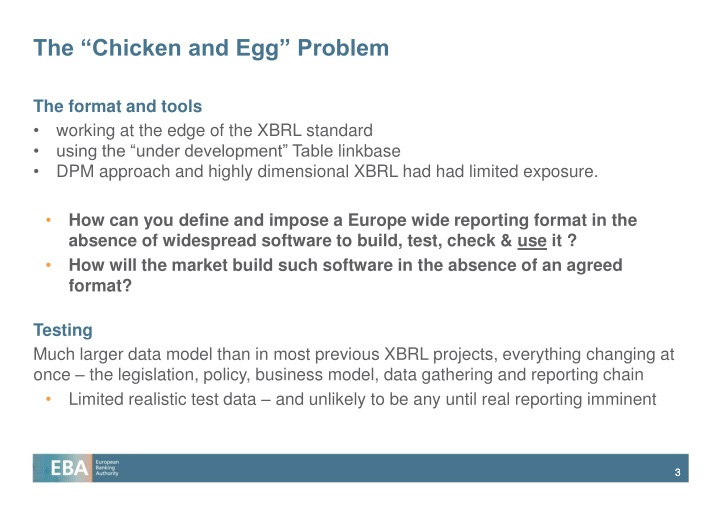 The chicken and egg problem
