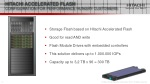 hitachi accelerated flash configuration for performance hungry customers