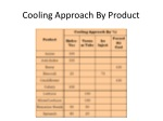 cooling approach by product
