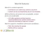 merritt features