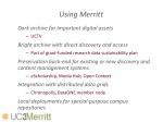 using merritt