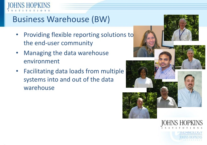 Business Warehouse (BW)