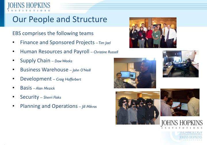 Our People and Structure