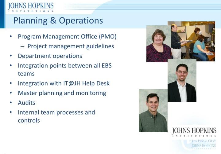 Planning & Operations