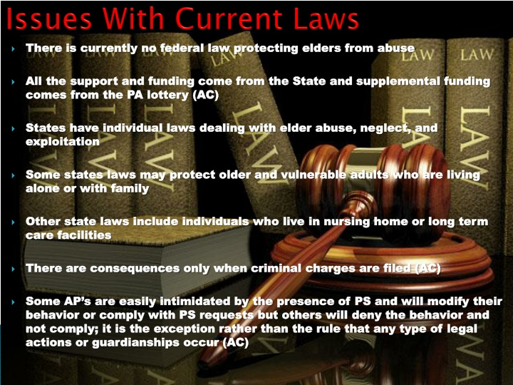 Issues With Current Laws