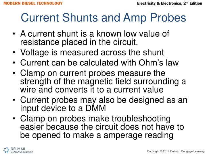 Current Shunts and Amp Probes