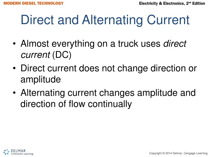 Direct and Alternating Current