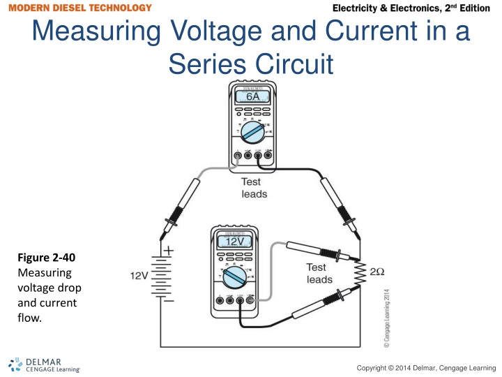Measuring Voltage and Current in a Series Circuit
