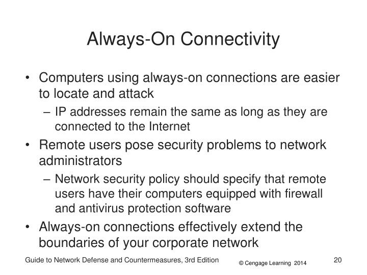 Always-On Connectivity