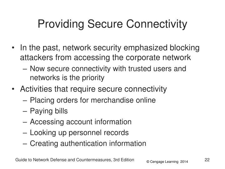 Providing Secure Connectivity