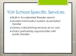 yln school specific services