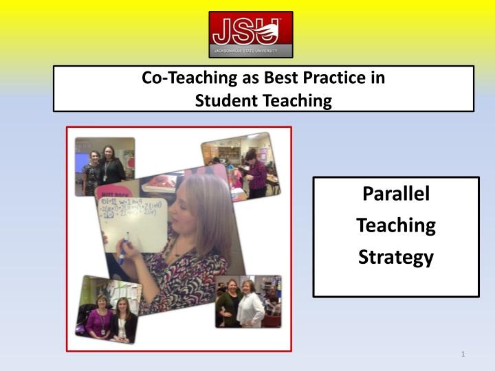 co teaching as best practice in student teaching n.