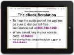 texas library association presents the ebook revolution