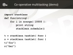 co operative multitasking demo