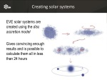 creating solar systems