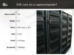 eve runs on a supercomputer