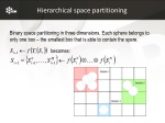 hierarchical space partitioning
