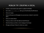 roblox tip creating a decal
