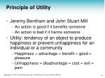principle of utility 1