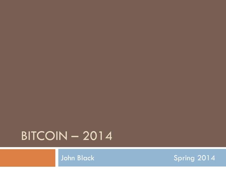 bitcoin 2014 n.