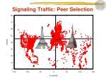signaling traffic peer selection1