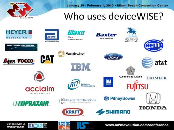 Who uses
