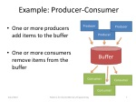 example producer consumer