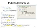 trick double buffering
