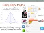 online rating models 1