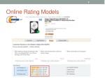 online rating models