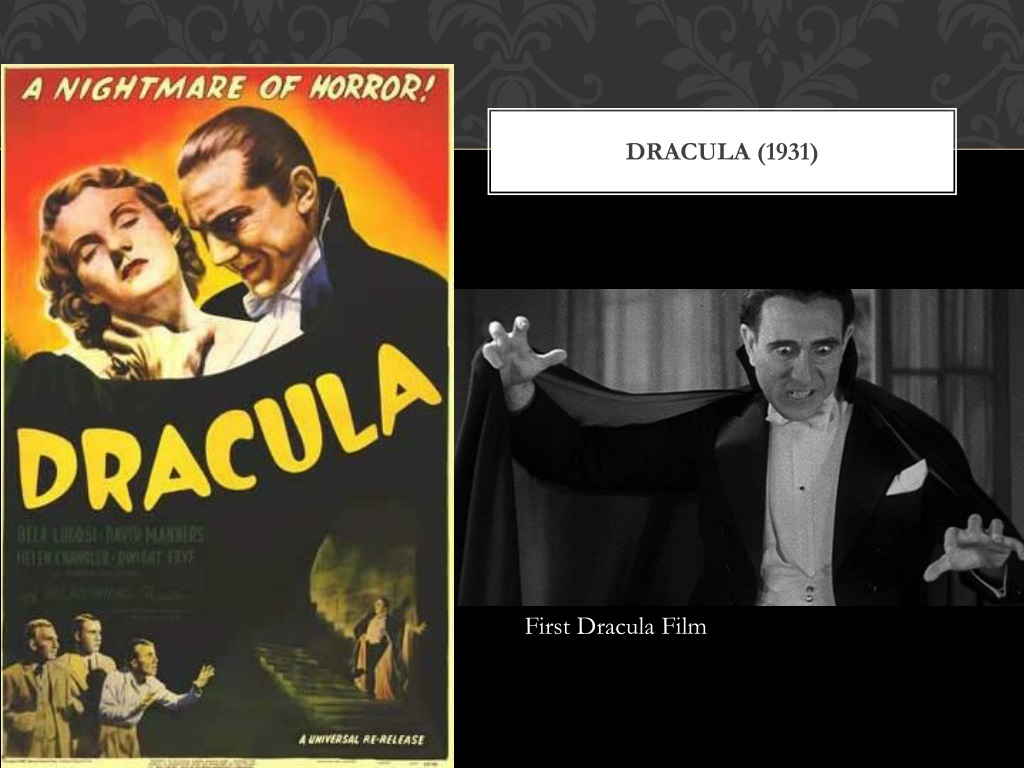 PPT - The history of Vampires in film PowerPoint