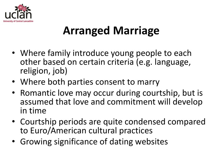 arranged marriage short essay Arranged marriages around the world are done for several reasons one is because young people are thought to be inexperienced and therefore not able to pick a suitable mate another is to make sure there is no intermarriage between members of the same family otherwise inbreeding or incest can.