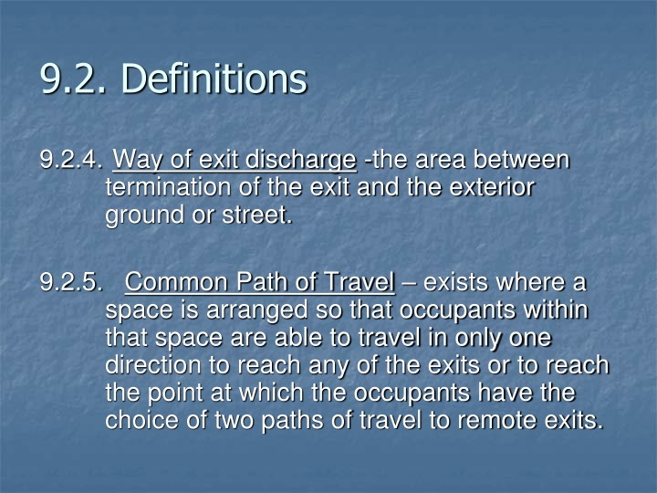 9.2. Definitions