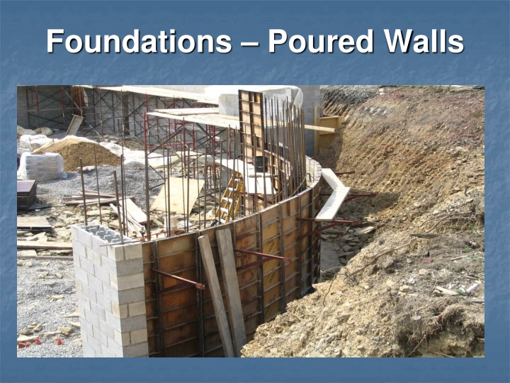 Foundations – Poured Walls