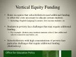vertical equity funding