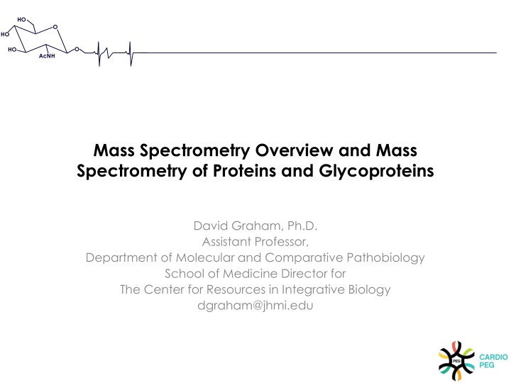 mass spectrometry overview and mass spectrometry of proteins and glycoproteins n.