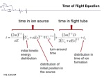 time of flight equation